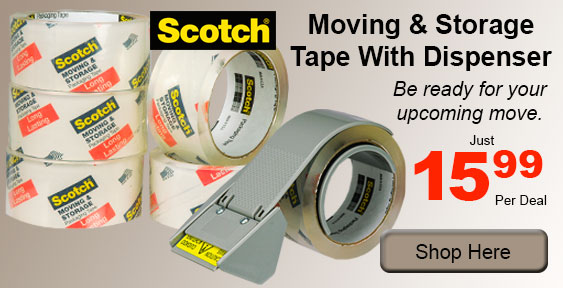 scotch moving and storage tape
