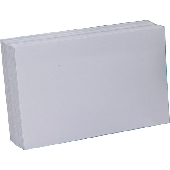 3 X 5 Index Cards Blank White Pack Of 100 Nordisco Com