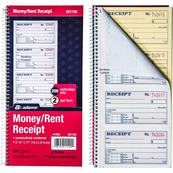 The Office Cafe Disco Quotes: Adams Money Rent Receipt Book Single