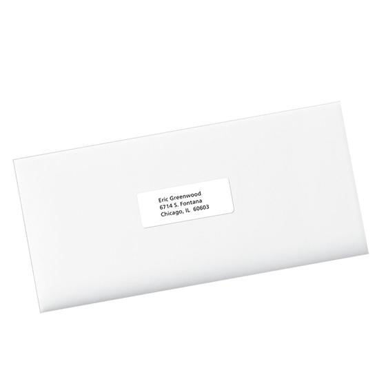 Avery 8160 white easy peel address labels 1 x 2 5 8 for Staples white mailing labels template