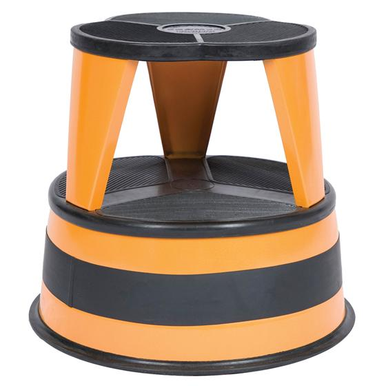 Orange Zest Cramer Kik Step Rolling Step Stool 1001 30
