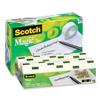 "18 Roll Cabinet Pack, Scotch Magic Tape, 3/4 x 1000"", 1"" Core"
