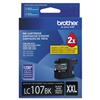 Brother LC107BK High Yield Black Ink Cartridge