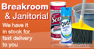 Breakroom and Janitorial