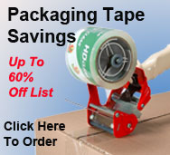 Packaging Tape Savings