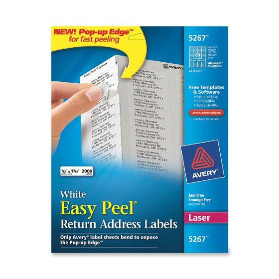 avery 5267 labels template