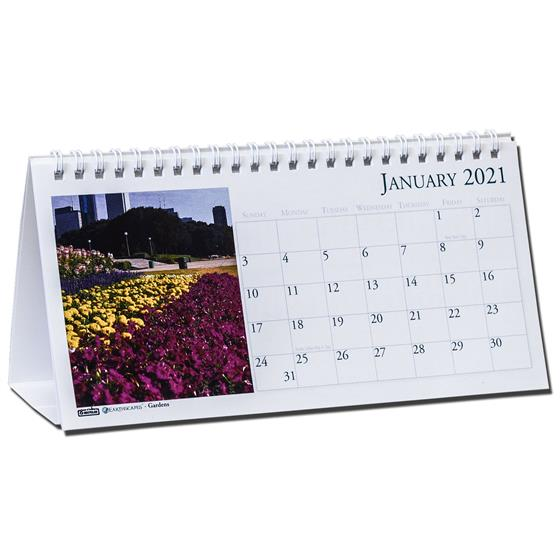 2021 309 HOD309 Earthscapes Gardens Tent Calendar By House ...