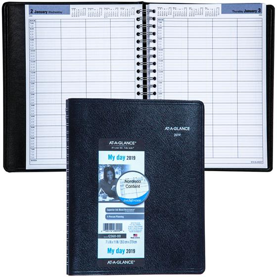 at-a-glance-dayminder-g560-00-2019-4-person-daily-appointment-book-778-x-11