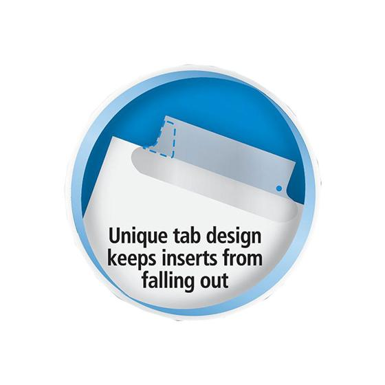 Avery 11110 Big Tab Insertable Dividers 8 12 X 11 5 Tab Clear