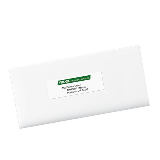 Avery 8162 White Easy Peel Address Labels 1 13 X 4 Inkjet Pack