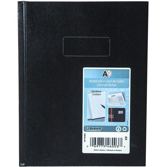 blueline a9 notebook  9 4 x 7 4 u0026quot   192 pages