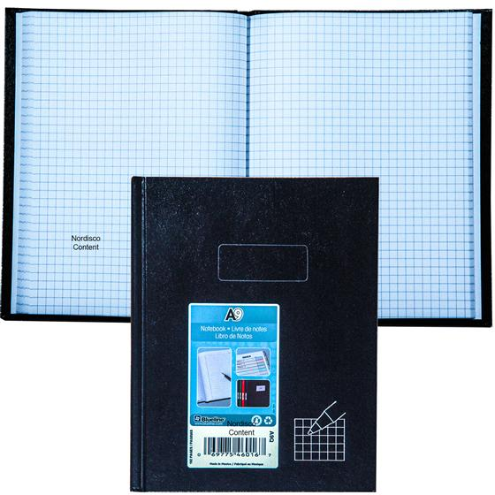 blueline-a9q-quad-ruled-hard-cover-notebook