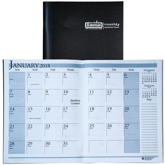 Hod26002 House Of Doolittle 2018 Monthly Appointment Planner