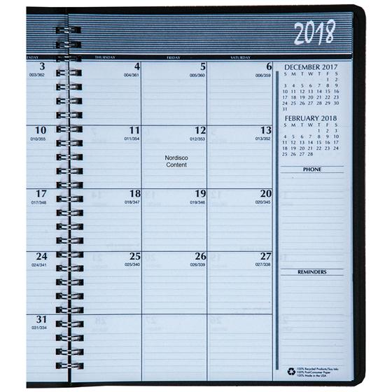 Hod26802 House Of Doolittle 2018 Monthly Appointment Planner