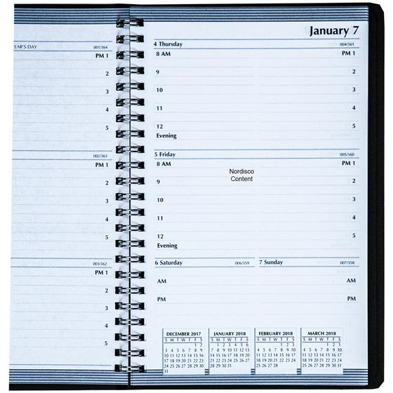 Hod27802 House Of Doolittle 2018 Weekly Appointment Planner