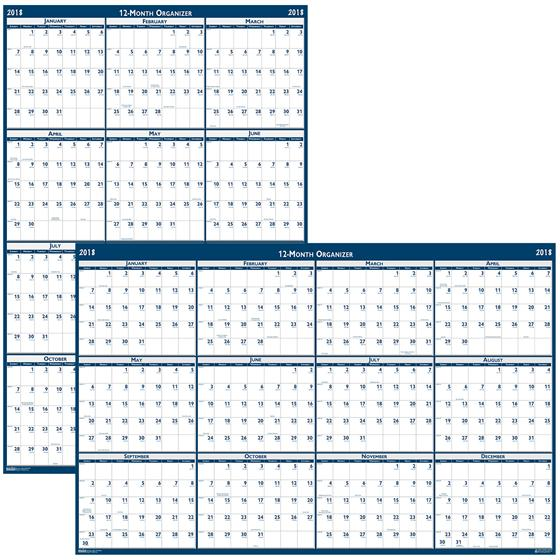 hod3962-house-of-doolittle-2018-erasable-wall-calendar-66-x-33
