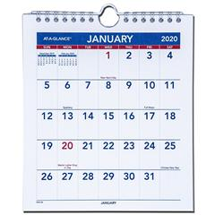 2020-at-a-glance-pm5-28-mini-monthly-wall-calendar-6-12-x-7-12