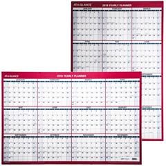 at-a-glance-2019-yearly-planner-pm26-28-dry-erase-wall-calendar-24-x-36-pm26b-28-pm26-28