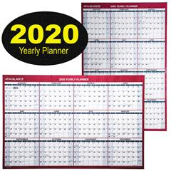 at-a-glance-2020-yearly-planner-pm26-28-dry-erase-wall-calendar-24-x-36-with-2020-logo