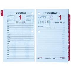 at a glance e017 50 2019 daily calendar refill with monthly tabs 3