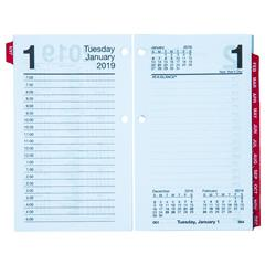 at a glance e717t 50 2019 daily calendar refill with monthly tabs 3