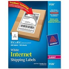 avery 5126 5 5 x 8 5 white internet shipping labels nordisco com