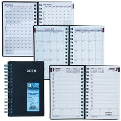 brownline cb634v blk 2019 duraflex daily planner appointment book 8