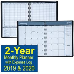 house-of-doolittle-2680-02-2019-&-2020-2-year-monthly-planner-with-expense-log-6-78-x-8-34