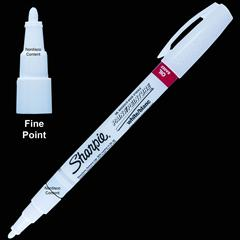 White Sharpie Oil Based Paint Marker 35543 Fine Point