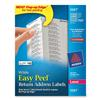 "Avery 5267, 1/2 x 1-3/4"" Easy Peel White Laser Return Address Labels, Pack of 2000"