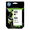 HP 901 CN069FN Combo Pack Black/Color Ink cartridge