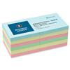 "Business Source 3 X 3"" Assorted Pastel Color Sticky Notes, 12/Pk"