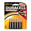 "Pack of 10, Duracell CopperTop ""AAA"" Batteries, MN2400B10Z"