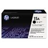 HP 15A, C7115A Black LaserJet Toner Cartridge