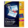 Avery Clean Edge Business Card