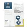 Business Source CD/DVD Laser/Inkjet Label