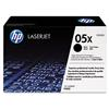 HP 05X, CE505X Black High Yield LaserJet Toner Cartridge