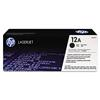 HP 12A, Q2612A Black LaserJet Toner Cartridge