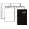 "Leatherette Cover, 2014-15 Student Assignment Book, 5 x 8"", Black"